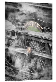 Tableau en PVC  La locomotive à vapeur Flying Scotsman - John Potter