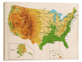Bois  USA - Topographic Map