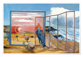 Poster  Landscape from a Dream - Paul Nash