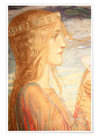 Poster Tristan and Isolde (Detail)