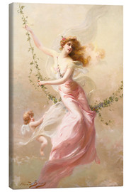 Tableau sur toile  The swing - Edouard Bisson