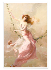 Poster  The swing - Edouard Bisson