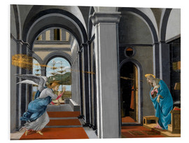 Tableau en PVC  The Annunciation - Sandro Botticelli