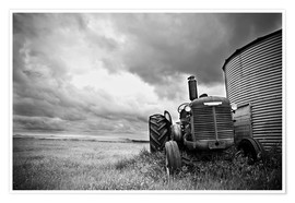 Poster  melancholic tractor