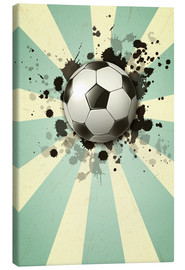 Tableau sur toile  Football forever - Kidz Collection