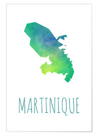 Poster  Martinique - Stephanie Wittenburg