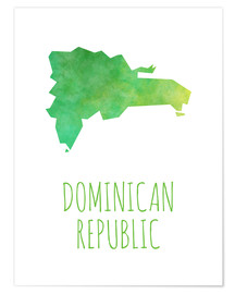 Poster  Dominican Republic - Stephanie Wittenburg