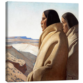 Toile  Men of the Red Earth - Maynard Dixon