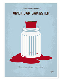 Poster American Gangster (anglais)