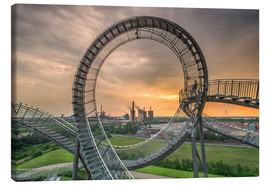 Tableau sur toile  Tiger and Turtle ? Magic Mountain, Duisbourg - Dennis Stracke
