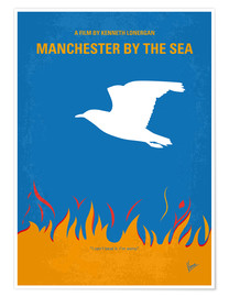 Poster Manchester by the Sea (anglais)