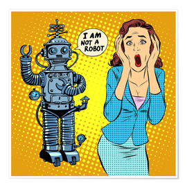 Poster  I am not a robot