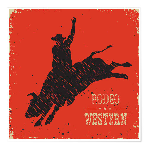 Poster Rodeo Ride