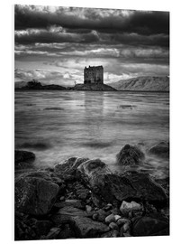 Tableau en PVC  Castle Stalker, Scotland - Martina Cross