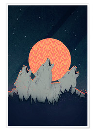 Poster  Howling Moon - Romina Lutz