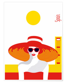 Poster Voyager avec style - Espagne