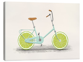 Toile  Bicyclette acide - Florent Bodart