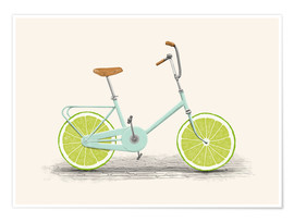 Poster  Bicyclette acide - Florent Bodart