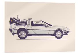 Verre acrylique  Delorean - Florent Bodart
