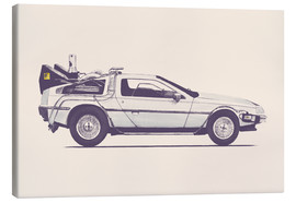 Toile  Delorean - Florent Bodart