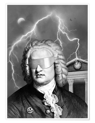 Poster Bach To the Future