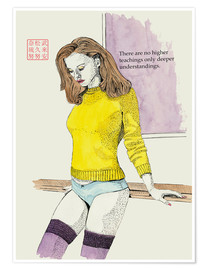 Poster  The Yellow Sweater - Bryan James
