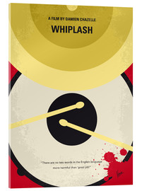 Verre acrylique  No761 My Whiplash minimal movie poster - chungkong