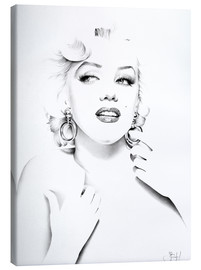 Toile  Marilyn Monroe - Ileana Hunter