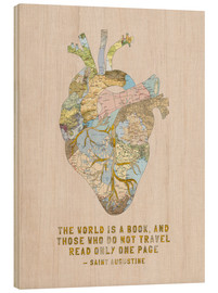 Bois  A Travelers Heart + Quote - Bianca Green