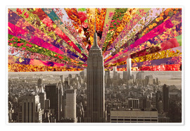 Poster BLOOMING NEW YORK