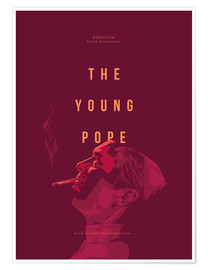 Poster The Young Pope (anglais)