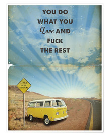 Poster  Little Miss Sunshine, citation (anglais) - 2ToastDesign