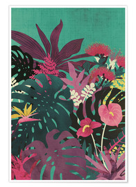 Poster  Tendances tropicales - littleclyde