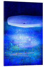Verre acrylique  City dreams - Hajin Bae