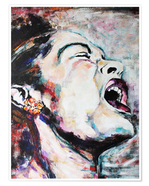 Poster  Billie Holiday, I'm a Fool to Want You - Christel Roelandt