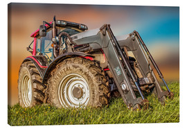 Toile  Tracteur-chargeur - Peter Roder