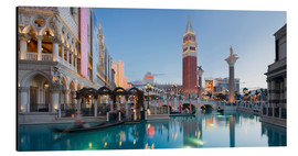 Tableau en aluminium  The Venetian Hotel sur South Las Vegas Boulevard - Rainer Mirau