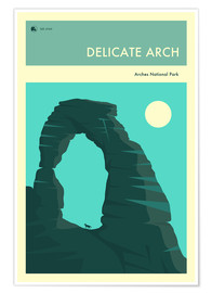 Poster  ARCHES NATIONAL PARK - Jazzberry Blue