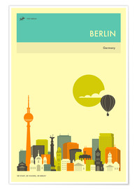 Poster BERLIN TRAVEL POSTER