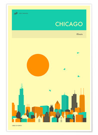 Poster  Chicago - Jazzberry Blue