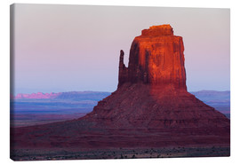 Toile  Monument Valley at sunset - Rainer Mirau