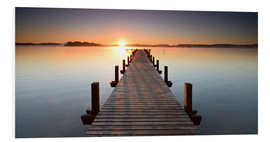 Forex  Footbridge at sunrise - Andreas Vitting
