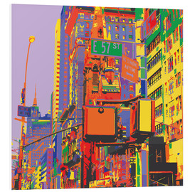 Tableau en PVC  Pop Art New York City - Jaysanstudio