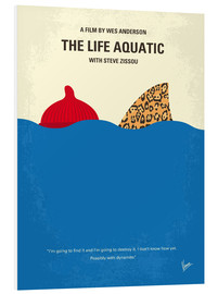 chungkong - No774 My The Life Aquatic with Steve Zissou minimal movie poster