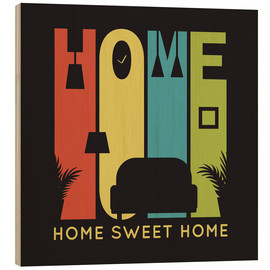 Bois  Sweet Retro Home Typo - Typobox