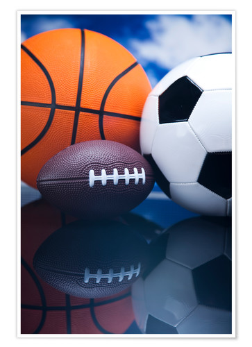Poster ball Sports