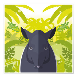 Poster Habitat of the Tapir