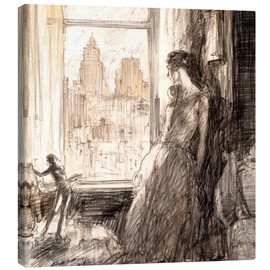Tableau sur toile  View from the window - Henri Patrick Raleigh