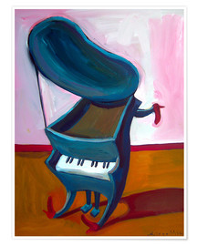 Poster  Little piano - Diego Manuel Rodriguez