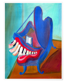 Poster The smiling piano